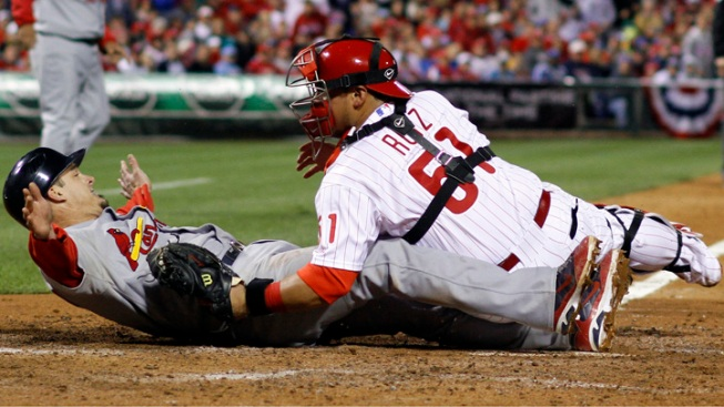 Cardinals Beat Phils 5-4, Even Series