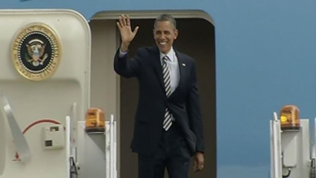 Obama Finds You Can Go Home Again--For 1 Night