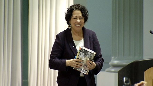 Sotomayor Gets Personal in Chicago Book Stop