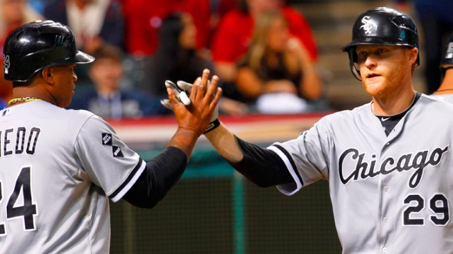 Sox Rout Indians in Season's Last Game