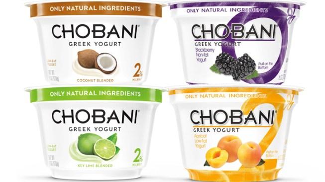 Chobani Recalls Some Greek Yogurt Cups