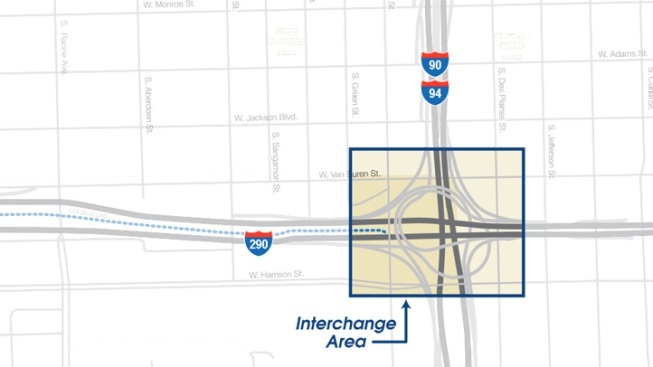 Quinn Approves Funds to Redo Circle Interchange