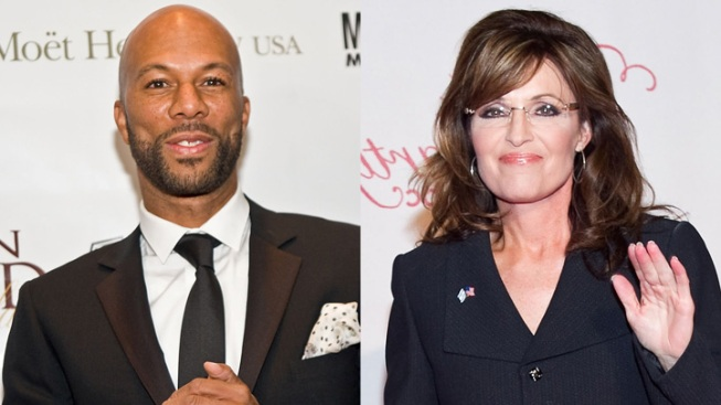 Palin Knocks White House Over Common's Invitation
