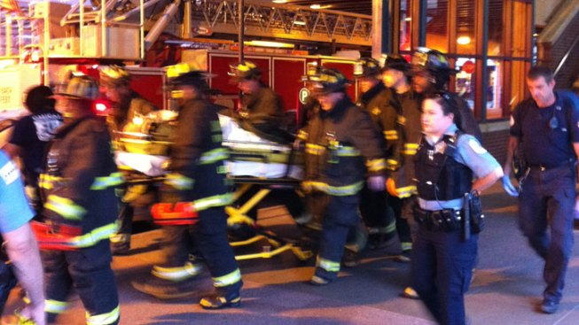 Man Falls Between CTA Cars in Loop