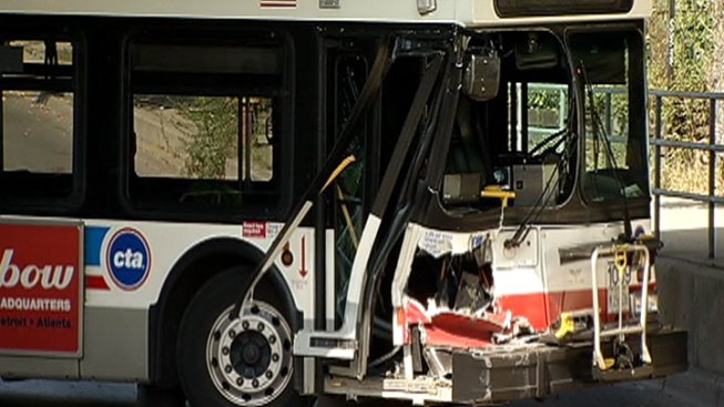 3 Injured in CTA Bus Crash