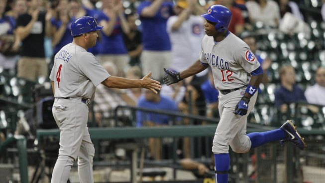 Soriano, Wood Lift Cubs Over Astros