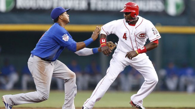 LaHair, Stewart Homer to Lead Cubs Over Reds