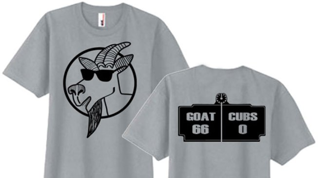 """Respect the Goat"" T-Shirt Surfaces on Internet"