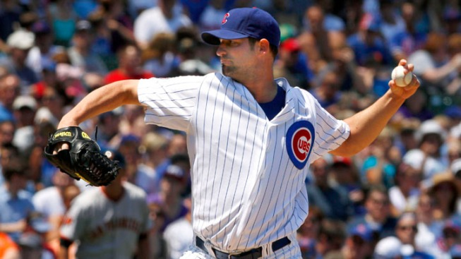 Cubs Fall to Giants in Doubleheader Opener