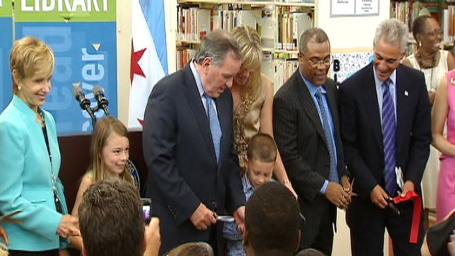 City Dedicates Library to Daley