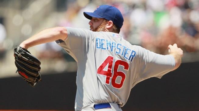 Dempster Runs Scoreless Streak to 27 in Cubs' Win