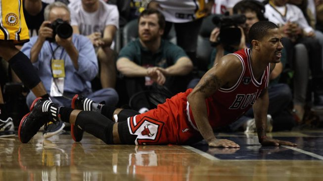 Rose Goes for MRI on Sprained Ankle