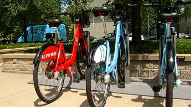 Red Divvy Bike Unleashed For Prize Opportunities