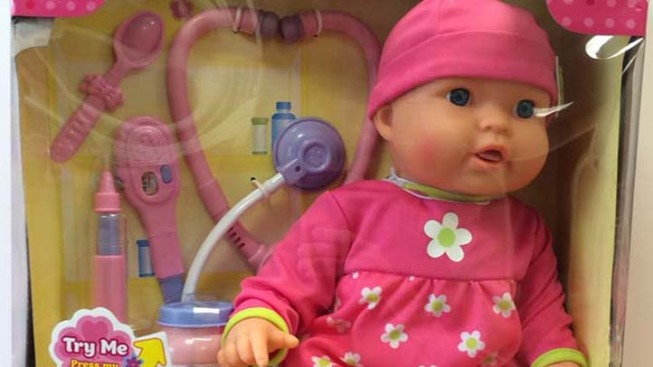 Wal-Mart Recalls 174,000 Baby Dolls Over Burn Risk
