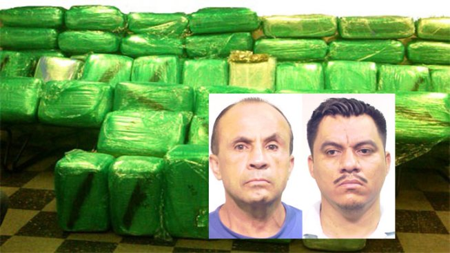 800 Pound Pot Bust Puts Pair Behind Bars