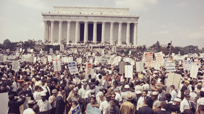 50 Years After King, Marchers Gather Again in D.C.