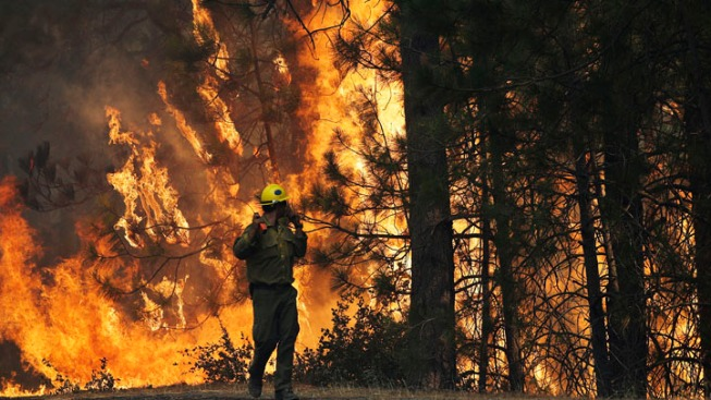 Body Found Inside Perimeter of Northern California Wildfire