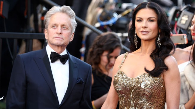 Michael Douglas Says No Crisis in Marriage