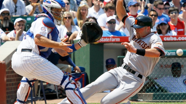 Soto's 3-Run HR in 13th Lifts Cubs Over Giants
