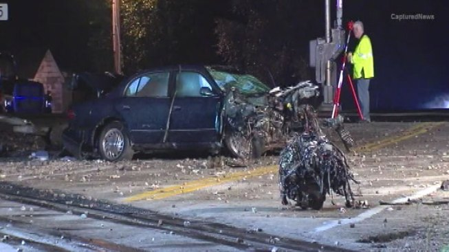 Young Father Charged in Train-Car Crash