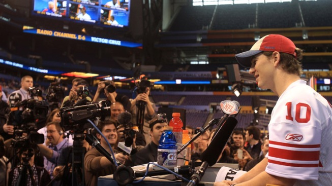 Ten Things We Learned at the Super Bowl Media Day