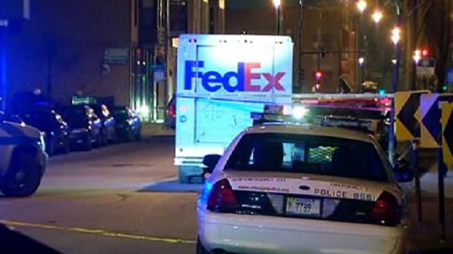 FedEx Employee Shot While Working