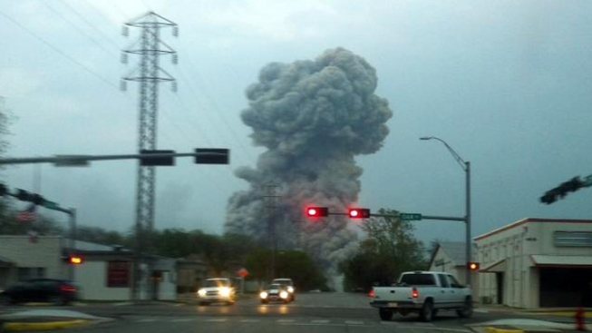 At Least 3 Firefighters Confirmed Dead in Texas Fertilizer Plant Explosion