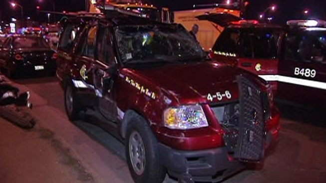 Paramedic, 6 Others Hurt in South Side Crash