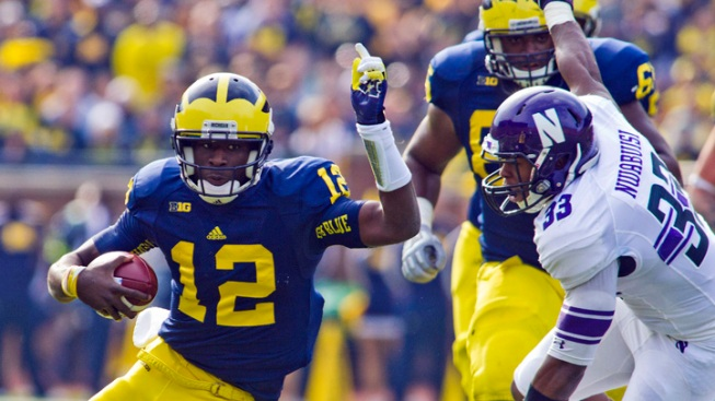 Michigan Beats Northwestern in OT