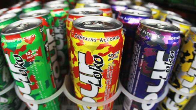 Man Charged With Buying Teens Four Loko