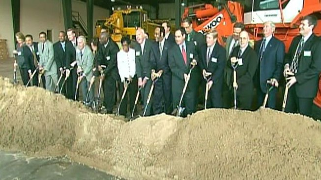 Gary Breaks Ground on Airport Expansion