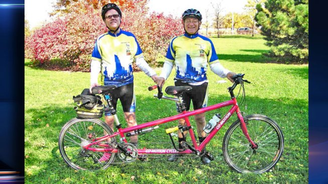 Blind Man's Hot Pink Tandem Bike Stolen