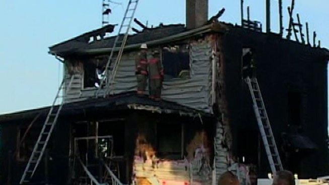 Grand Ridge Fire Was Murder-Suicide: Officials