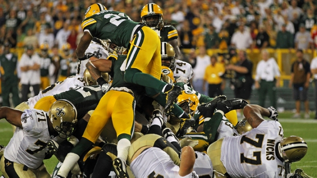 Packers Power Past Saints in Offensive Shootout
