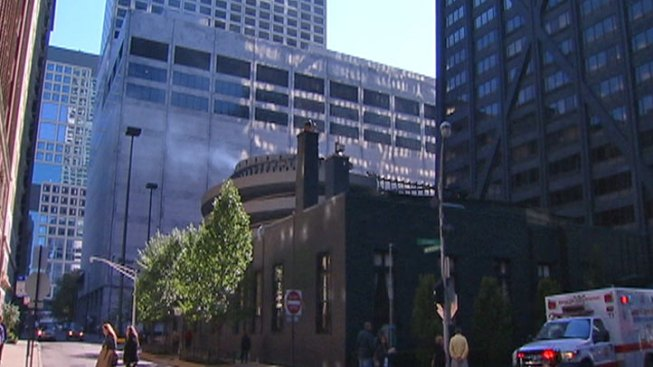 No Injuries in Small Fire at Hancock Building