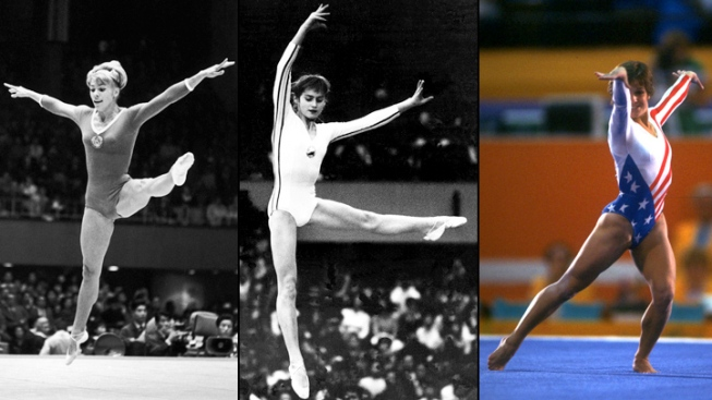 Triple Play: Best Female Gymnasts