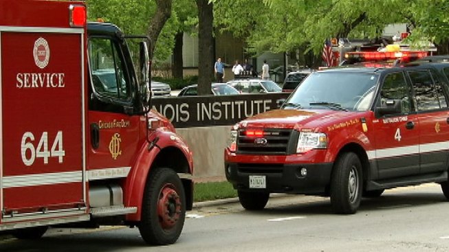 Acid Scare Prompts Building Evacuations at IIT