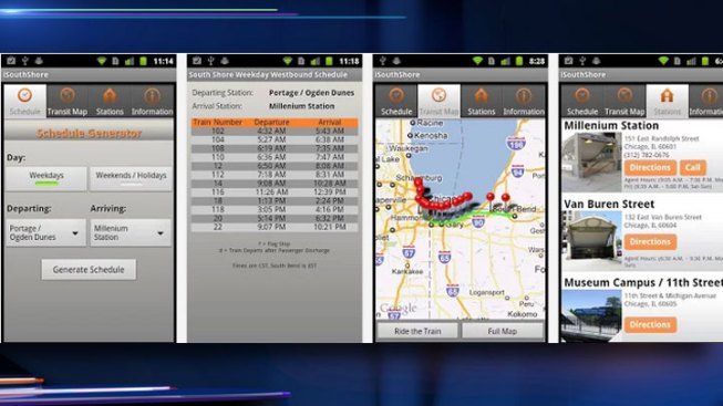 Programmer Releases App for South Shore Commuters