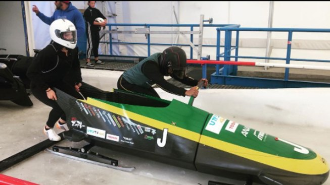 Jamaican Women's 'Fire on Ice' Bobsled Team Aims for Olympic Debut 30 Years After 'Cool Runnings'