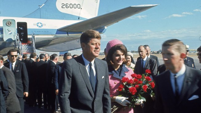 Love Field: JFK Arrives