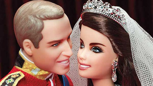Mattel Makes Prince William and Kate Middleton Dolls for Royal Wedding Anniversary