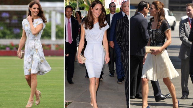 Queen Tells Kate Middleton to Ditch Short Skirts