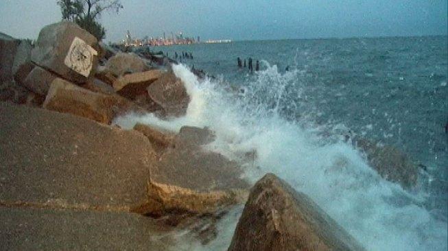Human Leg Washes onto South Side Beach