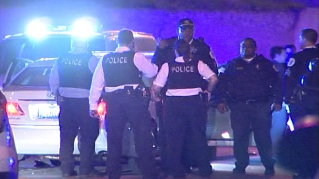 Officer OK After Being Hit by Car on South Side; Driver Arrested