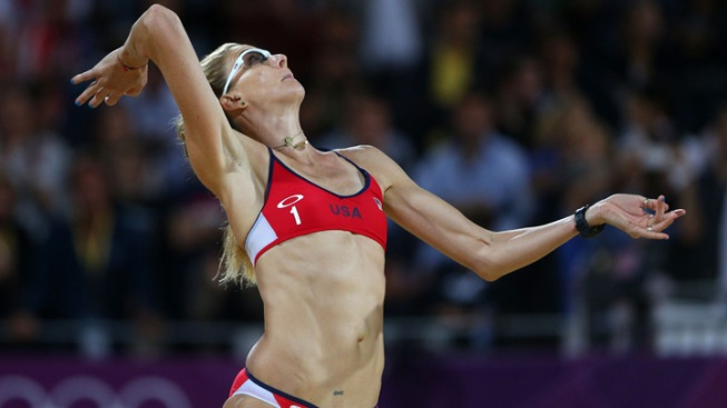 Olympian Kerri Walsh Jennings: I Was Pregnant in London