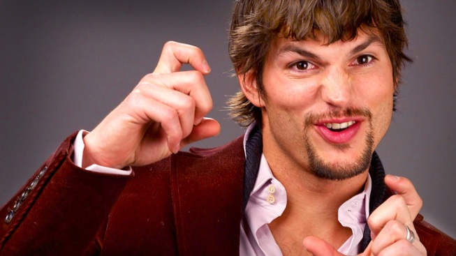 Ashton Kutcher Red-Faced Over Paterno Tweet