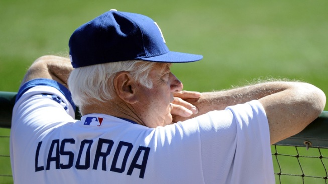 Former Dodgers Manager Tommy Lasorda Hospitalized After Heart Attack