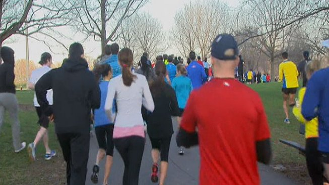 Chicago Area Hosts Runs to Support Boston
