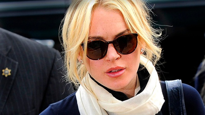 Lindsay Lohan Expected To Plead No Contest Over Necklace Theft Misdemeanor