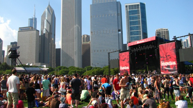 Lolla Boosts Cook County's Coffers